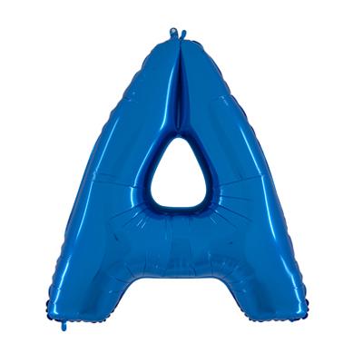 Letra A - Azul
