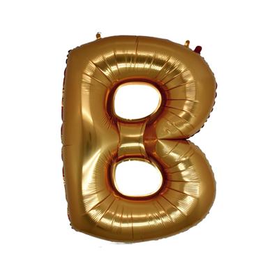 Letra B - Ouro
