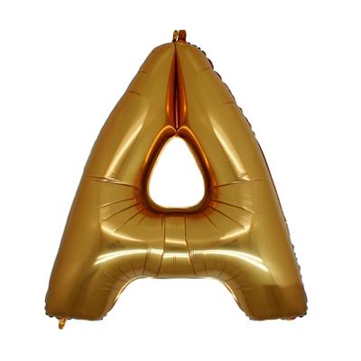 Letra A - Ouro