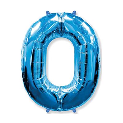 Número 0 - Azul