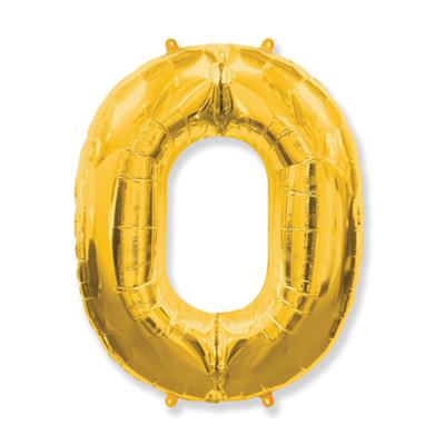 Número 0 - Dourado