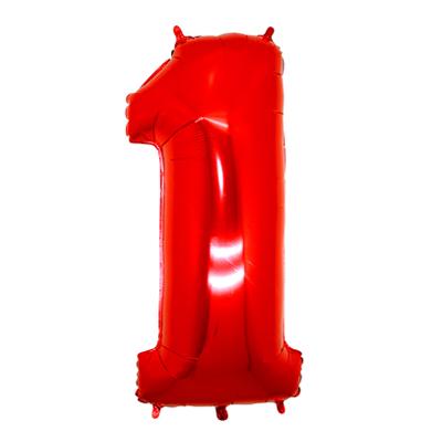 Número 1 - Vermelho