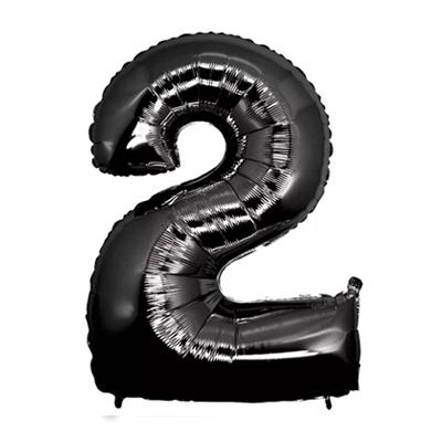 Número 2 - Preto